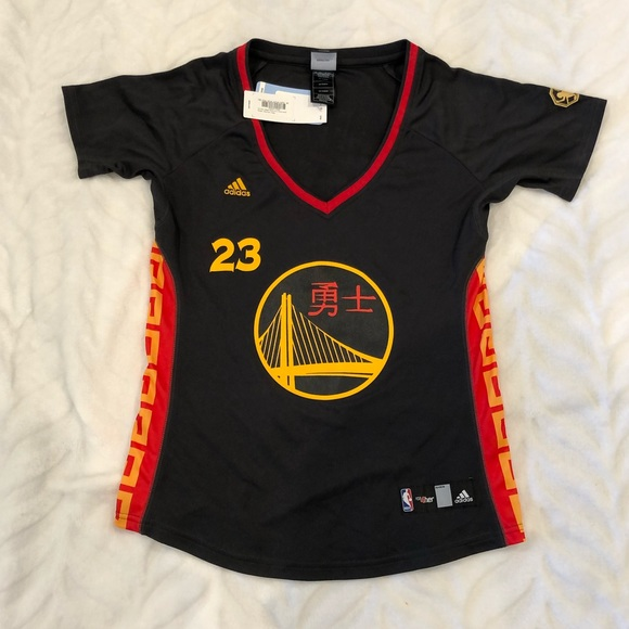 online retailer a711e 1cee3 NWT warriors Chinese New Year edition jersey NWT
